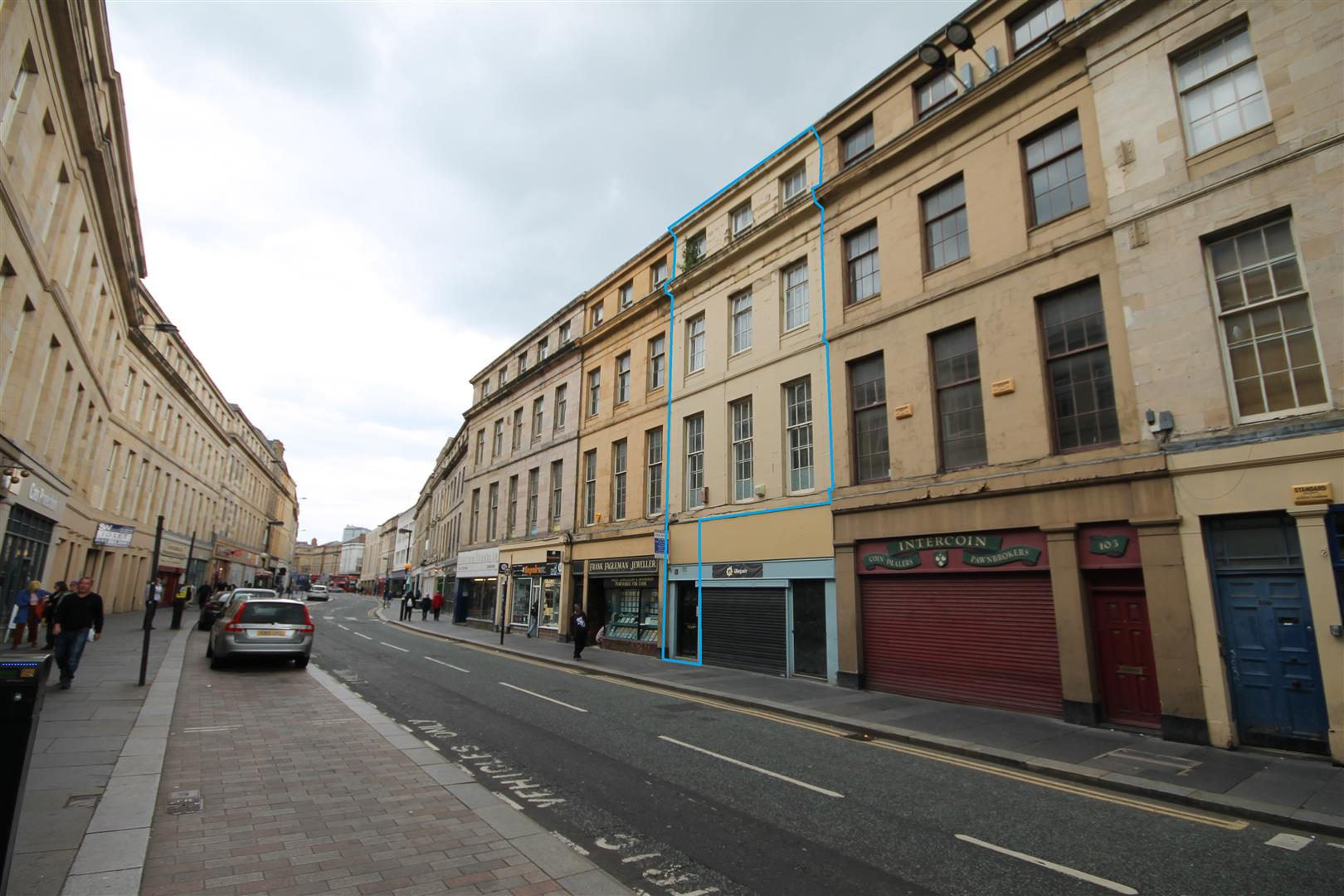 Clayton Street Newcastle Upon Tyne, 3 Bedrooms  Block of flats ,For Sale